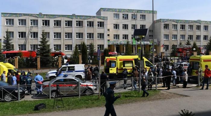 Atac armat într-o școală din Rusia. Bilanțul tragediei, revizuit la nouă morți, cei mai mulți dintre ei fiind elevi de clasa a VIII-a