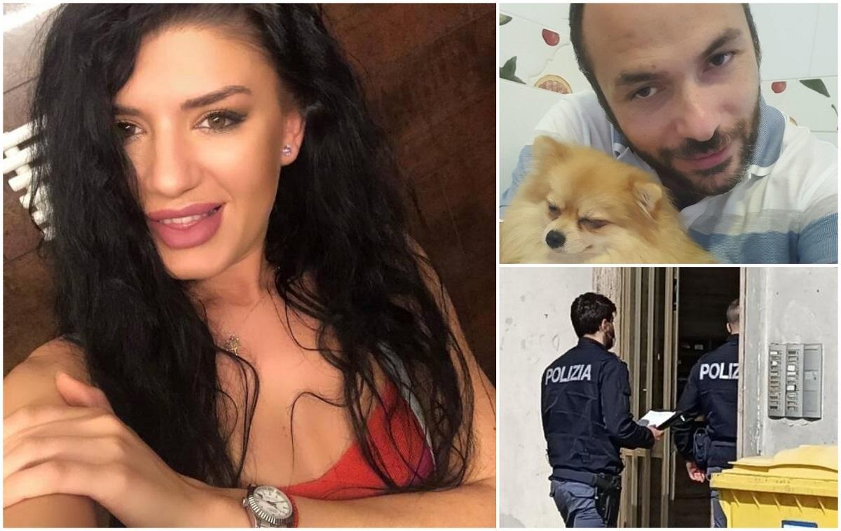 Elena Raluca Șerban și criminalul său, Gabriel Falloni