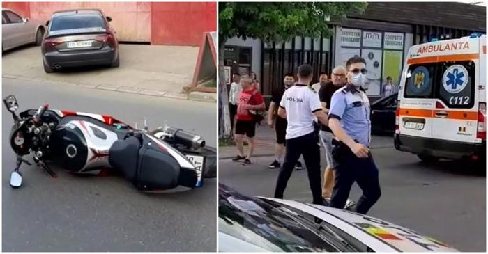 Fetiţă de 10 ani, spulberată de un motociclist pe o trecerede pietoni, în Alexandria. Bărbatul, la un pas să fie linşat de localnici