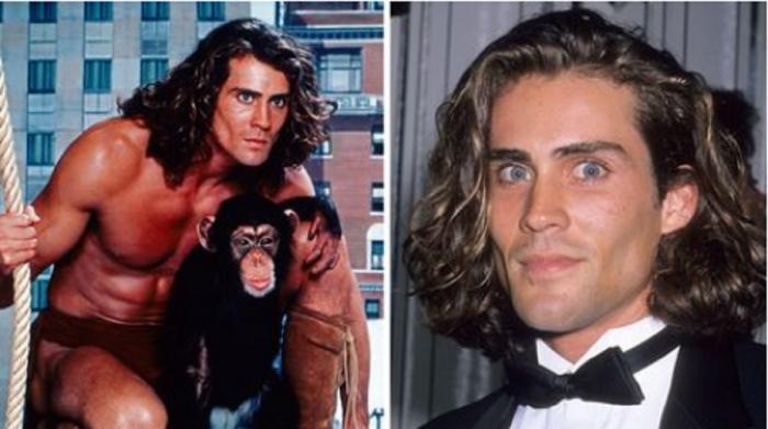 """Joe Lara, cunoscut în special graţie rolului din filmul de televiziune """"Tarzan"""""""