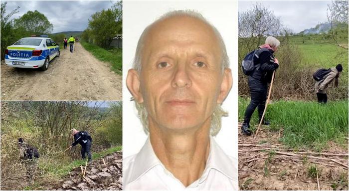 Scriitorul Alexandru Cristea a dispărut de acasă. Zeci de polițiști, câini și voluntari l-au căutat pe câmpurile și dealurile din Bobâlna