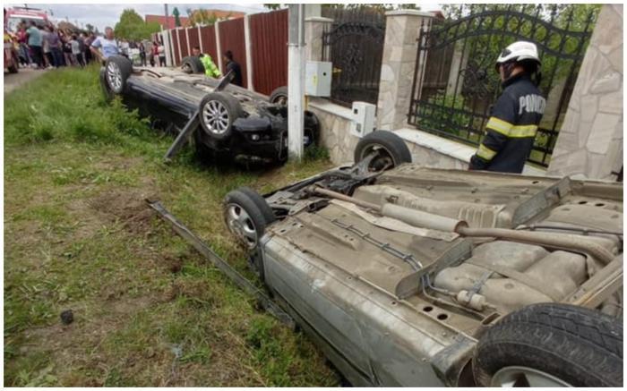 Accident cu șapte victime la Borlești, în Satu Mare. A fost activat Planul Roșu de Intervenție