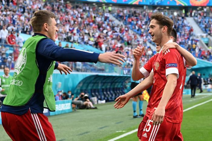Alexei Miranchuk a deschis scorul pentru Rusia în partida cu Finlanda, la EURO 2020
