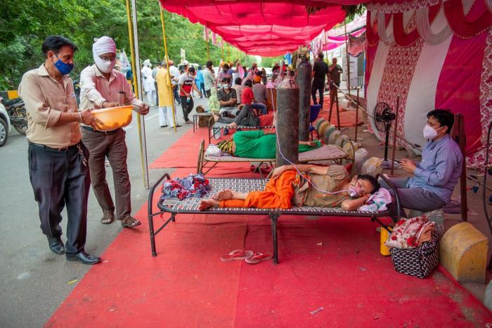 Pacienţi infectaţi cu Covid-19, India