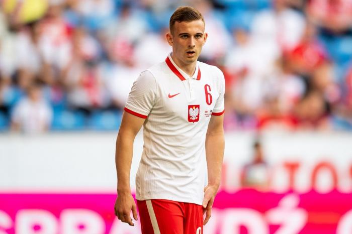 Kacper Kozlowski din Polonia; stadionul La Cartuja, Sevilla, Spania - 19 iunie 2021