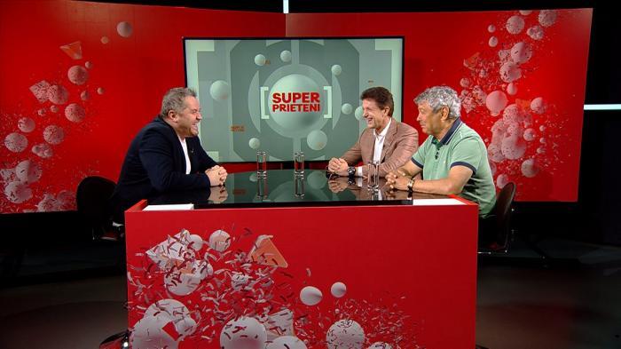 Căpitanul României şi al Barcelonei, Gică Popescu, prezintă la Antena 1 seria Super Prieteni, începând de miercuri