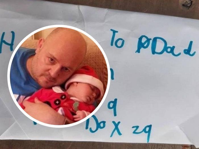 O fetiţă de 8 ani a trimis o scrisoare în ceruri pentru tatăl ei mort, în Anglia