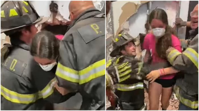 Adolescentă de 14 ani, salvată de pompieri după ce fratele mai mic a blocat-o accidental într-un seif vechi de bancă, în SUA