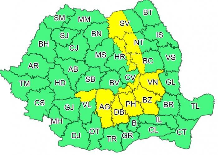 Alertă meteo de caniculă în România. Capitala și 21 de județe, sub cod galben până miercuri noapte