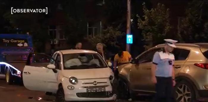 Valeriu Argăseală, preşedintele FCSB, accident cu patru maşini în Bucureşti. O şoferiţă a ajuns la spital
