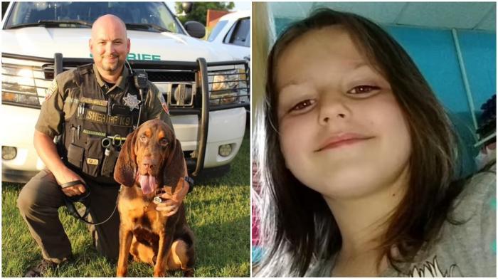Un câine erou a dat de urma unei fetiţe dispărute de o lună