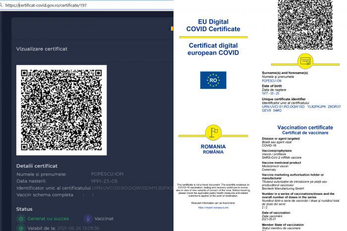 Certificatul COVID trebuie obținut cu minimum 5 zile înainte de a pleca din țară. Ce trebuie să faci ca să intri în posesia lui