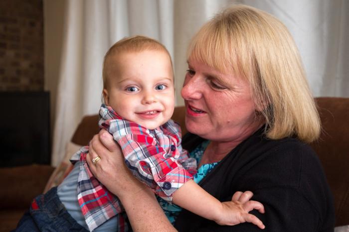 Louise Warneford şi micuţul William