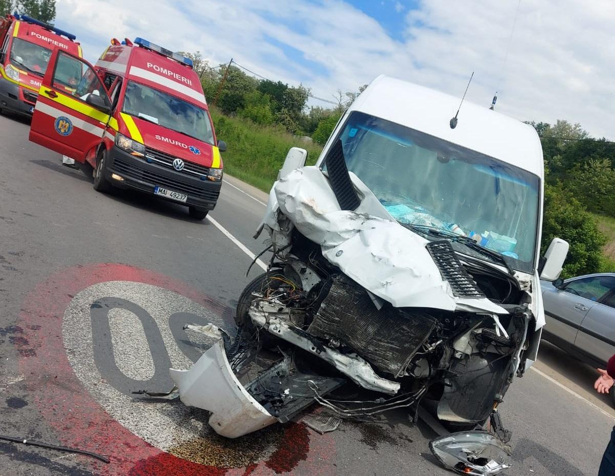accident la ieșirea din Târnava spre Mediaș