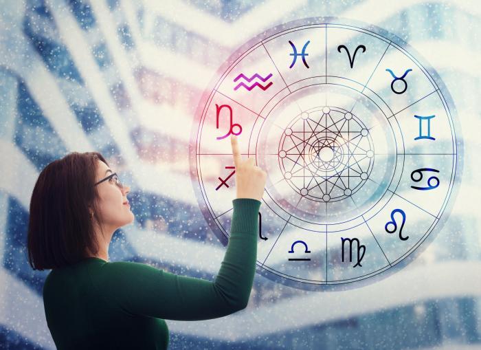O femeie alege un semn zodiacal