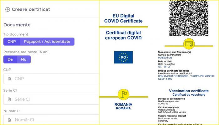 Platforma pentru eliberarea certificatului digital Covid este funcțională. Cum obţinem paşaportul verde