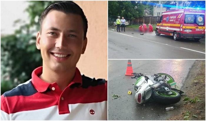 Liviu Alex Ababei a murit în urma unui accident de motocicleta