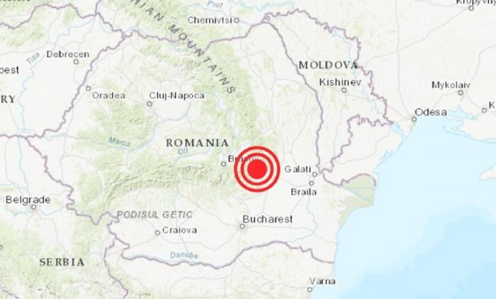 Două cutremure produse, luni dimineața, în România. Cel mai puternic a avut magnitudinea 4.1 pe Richter