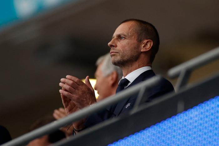 Președintele UEFA, Aleksander Ceferin