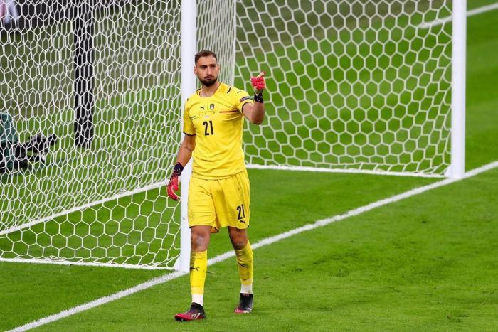 Gianluigi Donnarumma a fost desemnat cel mai bun jucător de la Euro 2020