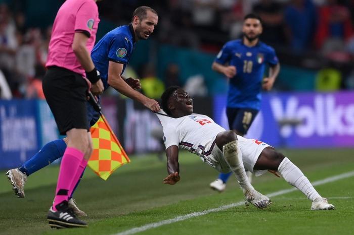 Chiellini a fost unul dintre eroii Italiei în finala cu Anglia de la Euro 2020
