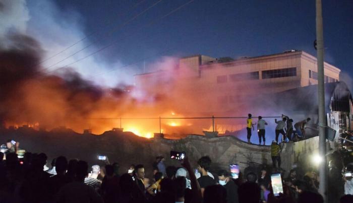 Zeci de morţi și răniți după explozia unui rezervor de oxigen într-un spital COVID din Nassiryah, în Irak
