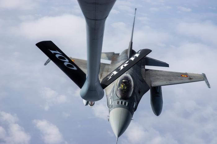 Incident aviatic la Galați, o aeronavă F-16 a pierdut un rezervor de combustibil și alte componente, în timp ce lansa o bombă de antrenament