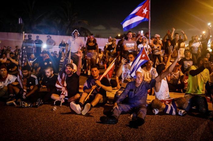 Mai multe persoane au protestat duminică, în Cuba