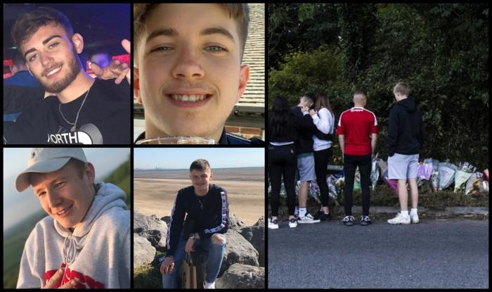 Cei patru tineri şi-au pierdut viaţa în teribilul accident de maşină