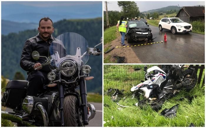 Un cunoscut motociclist de 33 ani a murit după ce a pierdut controlul într-o curbă, la Șaru Dornei