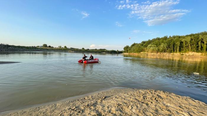 Imagini de la misiunea de căutare-salvare a celor doi copii dispăruti în apele Siretului