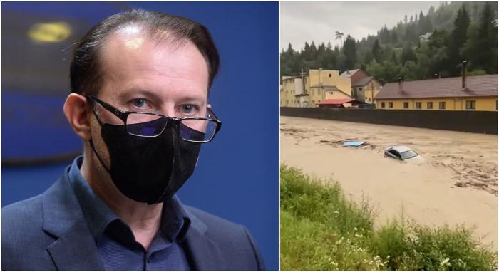 Premierul Florin Cîțu merge în Alba, în zonele devastate de inundaţii