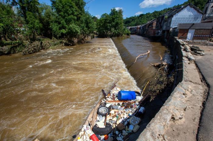 Inundaţii istorice în Blegia