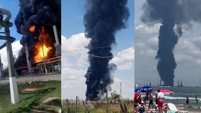Explozie la Rafinăria Petromidia: un mort și cinci răniți. Incendiul a fost lichidat. Lucian Bode: Se putea produce o catastrofă