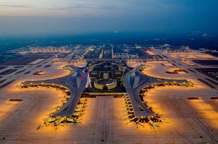 Deschiderea oficială a aeroportului gigant, în China