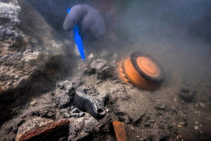 escoperire surprinzătoare a scafandrilor în Marea Mediterană