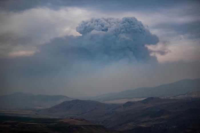 Incendii de vegetaţie în Canada
