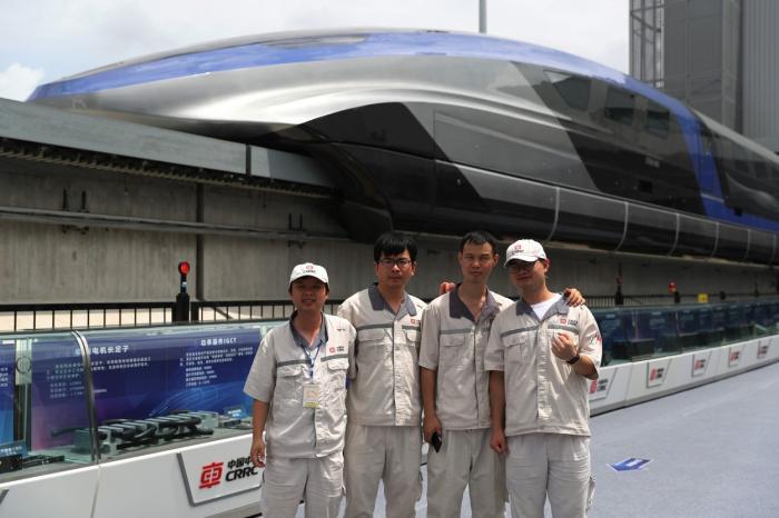 Cel mai rapid tren din China