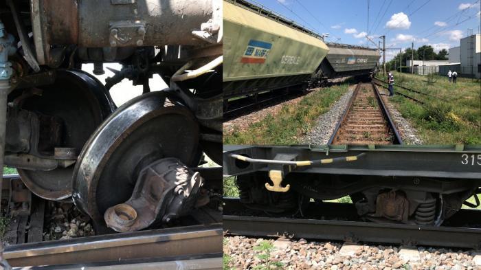 Tren deraiat la Feteşti. Circulaţia feroviară are întârzieri de o oră