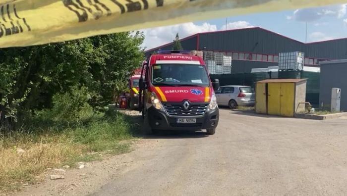 Incendiu într-o hală de reciclare din Popeşti-Leordeni. Sunt 10 victime: şase cu arsuri, din care 5 intubate