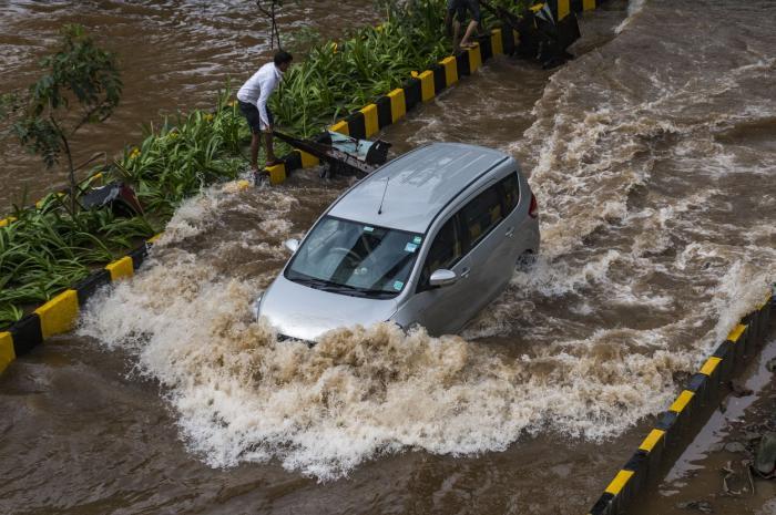 Inundaţii devastatoare în India