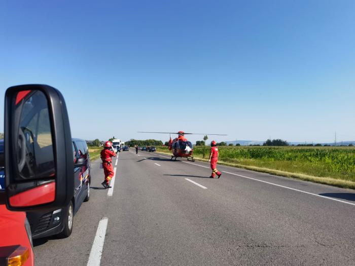Accident cumplit în Bacău, cu șapte morți