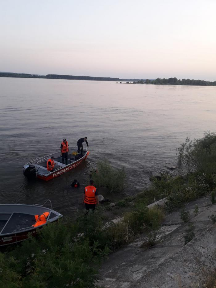 Accident naval pe Dunăre