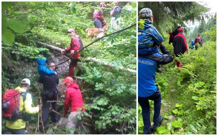Șase turiști străini, printre care o familie cu doi copii mici, recuperați după ce s-au rătăcit noaptea trecută în Munții Rodnei