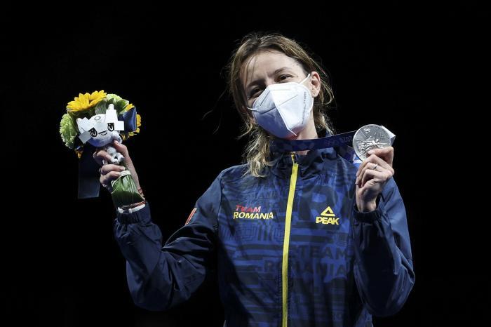 Ana Maria Popescu a adus singura medalie a României de până acum, de la Jocurile Olimpice de la Tokyo