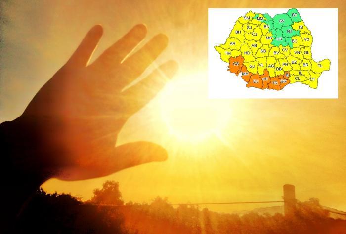 Vreme caniculară în România