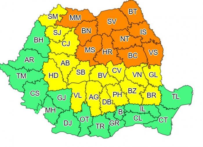 Cod portocaliu de caniculă în Bucureşti şi 6 judeţe. ANM anunţă temperaturi de 40 de grade la umbră, în următoarele zile