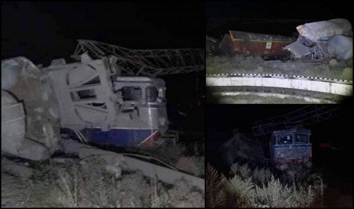 Două trenuri de marfă s-au ciocnit la Feteşti, peM 800 Bucureşti – Constanţa. Traficul feroviar este blocat