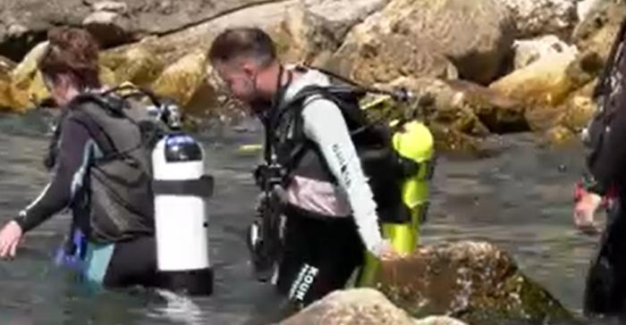 Prima lecție de scufundare în zona cetății Tomis. Reacția turiștilor care au explorat adâncurile