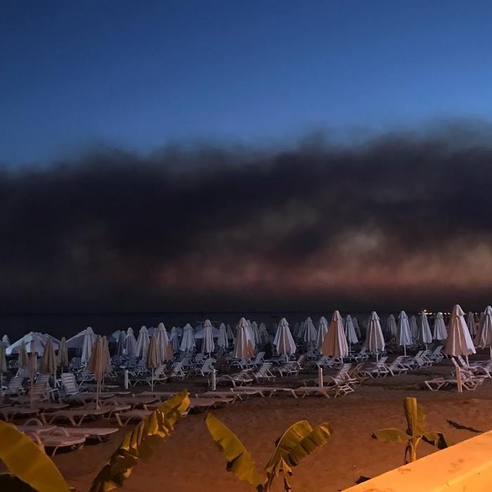 Incendii de vegetaţie în Turcia